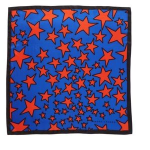 Marc Jacobs Silk Square Scarf